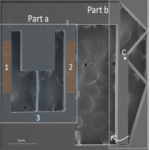 Micro-tensile tester Scanning Electron Microscope image